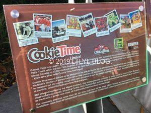 Cookie Timeのインフォメーション看板
