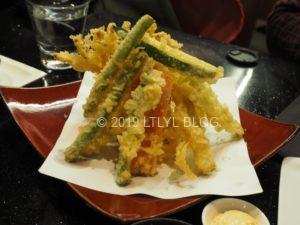 AshburtonにあるMiyabiという日本食レストランの天ぷら