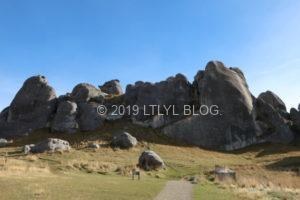 キャッスルヒルの石灰岩たち