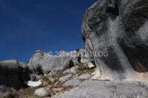 様々な形の石灰岩