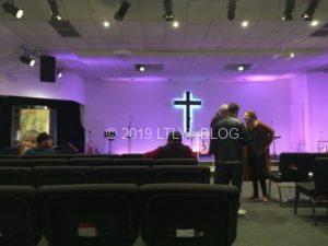 教会内のバンドセット