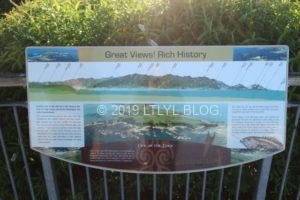 Peninsula Great viewの歴史に関する案内看板