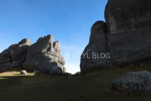 壮大な石灰岩