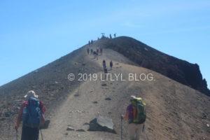 最後の登り道