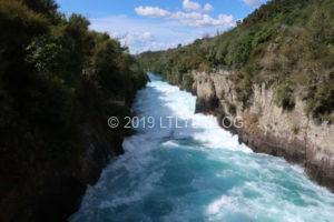 勢いのすごいフカ滝