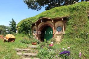 ホビット村メインの家