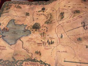 ホビット村の地図