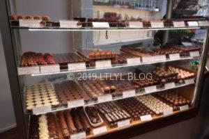 Devonport Chocolateのショーウィンドウ