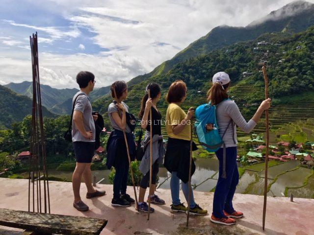 Rice Terracesにて5人で記念撮影