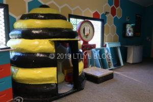 子供が喜ぶHuka honey hiveの内装