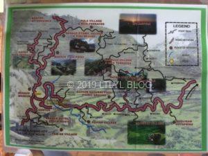 バナウェのマップ
