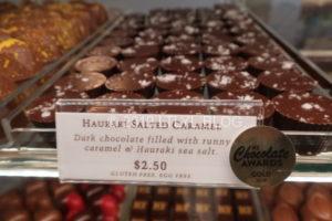 塩キャラメルのチョコレート
