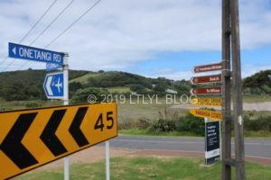 Waihekeの道路標識