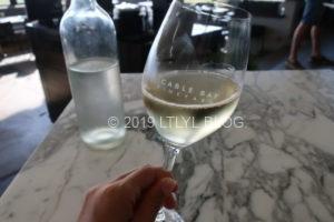 Cable bayの白ワイン
