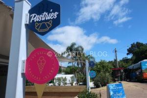 Onetangiビーチの近くにあるアイスクリーム屋さん