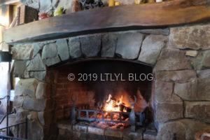 ホビット村の暖炉