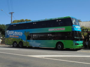 Waiheke Exploror bus