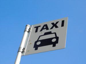 Taxiの標識