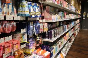 Japan Martの日用品コーナー