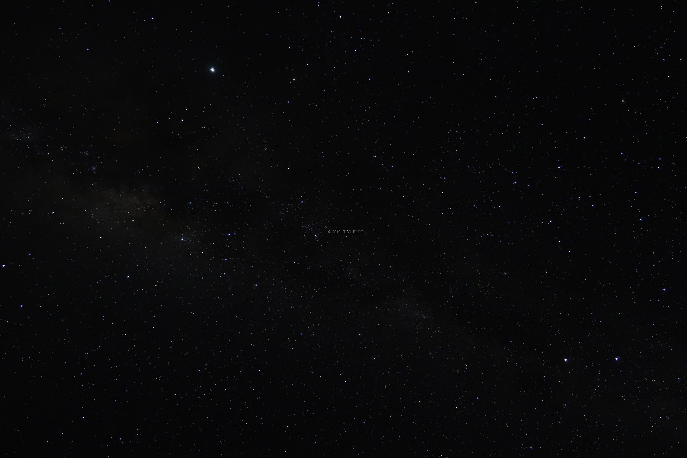 クライストチャーチから見える星