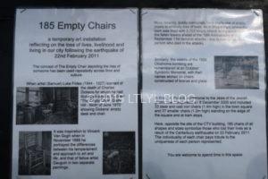 185個の椅子の意味