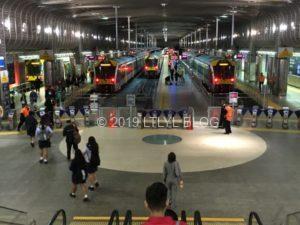 オークランドのbritomart駅