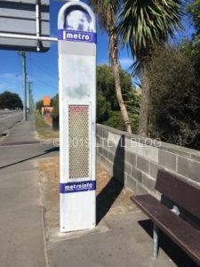 クライストチャーチのバス停