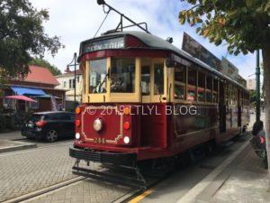 クライストチャーチの路面電車「トラム」