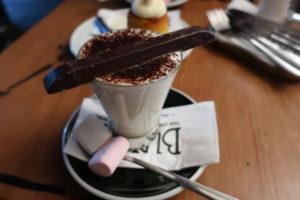 BUNSENのホットチョコレート