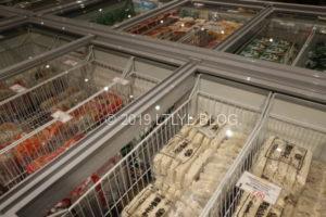 Japan Martの冷凍食品コーナー