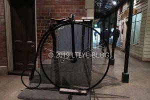 昔の自転車