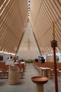 トランジショナル大聖堂の内装