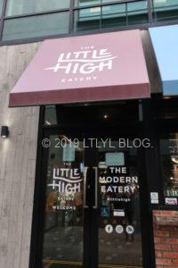 Little High Eateryの外観