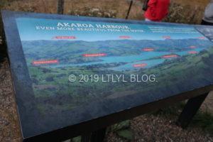 アカロアの入り江地図