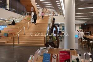 クライストチャーチの図書館の様子