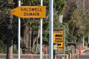 HalswellDomainトレインオープンサイン