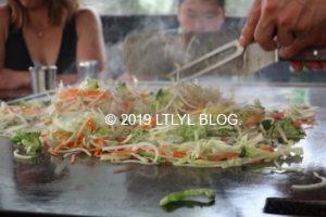 Shin's Teppanyakiの焼き野菜