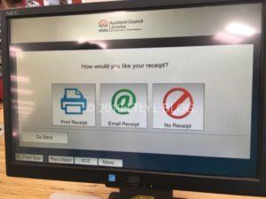 図書館セルフレジの利用方法⑥