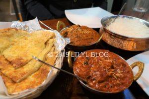 インド料理屋のカレー