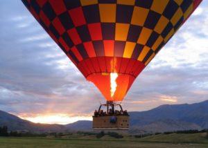 クイーンズタウンの気球