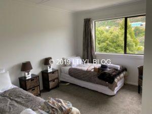 Airbnbで借りた家の部屋2