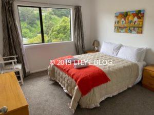 Airbnbで借りた家の部屋1