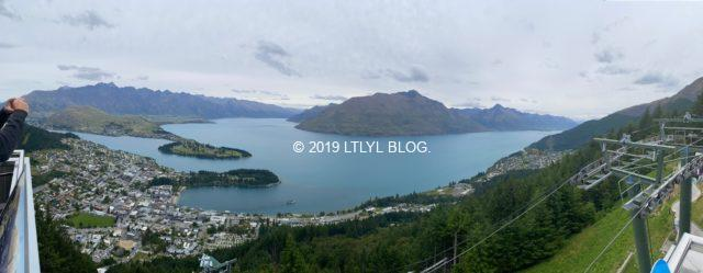 ワカティプ湖全体の写真