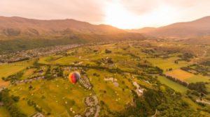 気球からの風景