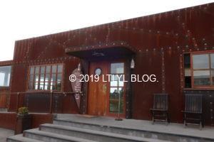 オマルーにあるカフェの外観