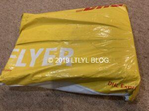 DHLパッケージ