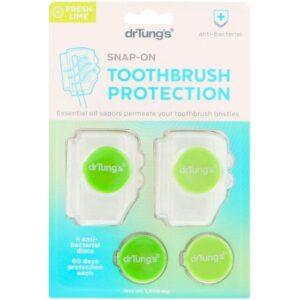 Dr. Tung's, スナップオン式歯ブラシ消毒器
